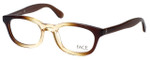 FACE Stockholm Busy 1316-9201 Designer Eyeglasses in Brown Beige :: Custom Left & Right Lens