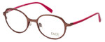 FACE Stockholm Variety 1319-5109 Designer Eyeglasses in Brown Pink :: Custom Left & Right Lens
