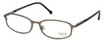 FACE Stockholm Blush 1302-5504 Designer Eyeglasses in Silver :: Progressive