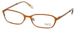 FACE Stockholm Karma 1314-5411 Designer Eyeglasses in Orange :: Progressive