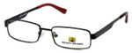 Body Glove Designer Eyeglasses BB127 in Black KIDS SIZE :: Custom Left & Right Lens