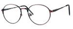 Regency International Designer Eyeglasses Cambridge in Antique Rose 50mm :: Rx Bi-Focal