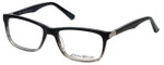 Eddie Bauer Designer Eyeglasses EB8392-Black-Fade in Black-Fade 53mm :: Custom Left & Right Lens