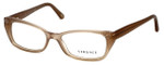 Versace Designer Eyeglasses 3150B-937 in Sand 53mm :: Rx Single Vision