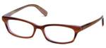 Paul Smith Designer Eyeglasses PS409-SYCLV in Brown Horn 49mm :: Custom Left & Right Lens