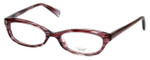 Oliver Peoples Designer Eyeglasses Marceau PH in Purple Horn 51mm :: Custom Left & Right Lens