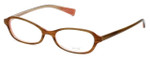 Oliver Peoples Designer Eyeglasses Ninette OTPI in Brown Stripe 48mm :: Custom Left & Right Lens