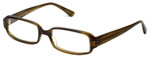 Oliver Peoples Designer Eyeglasses Tulin OT in Olive Tortoise 52mm :: Custom Left & Right Lens