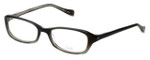 Oliver Peoples Designer Eyeglasses Marcela OBSGR in Smoke Fade 51mm :: Progressive