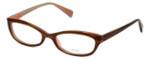 Oliver Peoples Designer Eyeglasses Marceau OTPI in Brown Stripe 51mm :: Rx Bi Focal