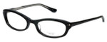 Oliver Peoples Designer Reading Glasses Laraine BK in Black 49mm