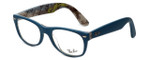 Ray-Ban Designer Eyeglasses RB5184-5407 in Blue 52mm :: Custom Left & Right Lens