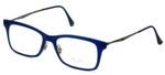Ray-Ban Designer Eyeglasses RB7039-5451 in Matte-Blue 51mm :: Progressive