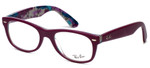Ray-Ban Designer Reading Glasses RB5184-5408 in Purple 50mm