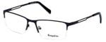 Esquire Designer Eyeglasses EQ1515 in Navy 55mm :: Custom Left & Right Lens