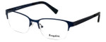 Esquire Designer Eyeglasses EQ1521 in Satin-Navy 53mm :: Custom Left & Right Lens