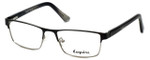 Esquire Designer Eyeglasses EQ1523 in Black 53mm :: Custom Left & Right Lens