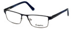 Esquire Designer Eyeglasses EQ1523 in Navy 53mm :: Custom Left & Right Lens