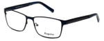 Esquire Designer Eyeglasses EQ8650 in Navy 57mm :: Custom Left & Right Lens