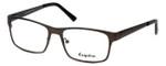 Esquire Designer Eyeglasses EQ8651 in Gunmetal 54mm :: Custom Left & Right Lens