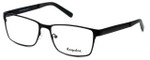 Esquire Designer Eyeglasses EQ8650 in Black 57mm :: Rx Single Vision