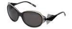 BOZ Designer Sunglasses New Age 0505 in Black Grey Frame & Grey Lens 57mm