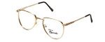 Regency Designer Eyeglasses Dover in Gold 52mm :: Custom Left & Right Lens