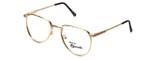 Regency Designer Eyeglasses Dover in Gold 52mm :: Custom Left & Right Lens