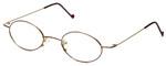 Regency Designer Eyeglasses SL503 in Gold-Tortoise 48mm :: Custom Left & Right Lens