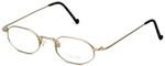 Regency Designer Eyeglasses SL510 in Matte-Gold 46mm :: Rx Single Vision