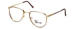 Regency Designer Eyeglasses Dover in Gold-Amber 52mm :: Rx Bi-Focal