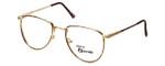 Regency Designer Eyeglasses Dover in Gold-Amber 52mm :: Rx Bi-Focal
