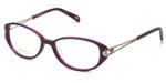 Silver Dollar Designer Eyeglasses Cashmere 463 in Purple 50mm :: Custom Left & Right Lens