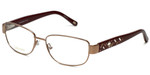 Silver Dollar Designer Eyeglasses Cashmere 472 in Blush 53mm :: Custom Left & Right Lens