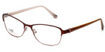 Silver Dollar Designer Eyeglasses CB1025 in Wine 53mm :: Custom Left & Right Lens