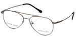 Silver Dollar Designer Eyeglasses Gunnison in Gunmetal 54mm :: Custom Left & Right Lens