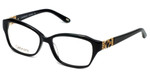 Silver Dollar Designer Eyeglasses Cashmere 467 in Caviar 53mm :: Rx Single Vision