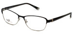 Silver Dollar Designer Eyeglasses CB1025 in Caviar 53mm :: Rx Single Vision