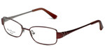 Silver Dollar Designer Eyeglasses Connie in Rose 49mm :: Rx Bi-Focal