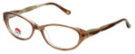 Silver Dollar Designer Reading Glasses Café 3484 in Fawn 53mm