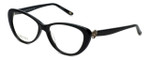 Silver Dollar Designer Reading Glasses Cashmere 456 in Caviar 53mm