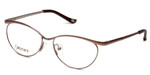 Silver Dollar Designer Reading Glasses Cashmere 459 in Blush 52mm