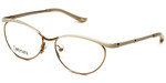 Silver Dollar Designer Reading Glasses Cashmere 459 in Creme 52mm