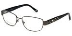 Silver Dollar Designer Reading Glasses Cashmere 472 in Graphite 53mm