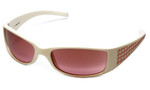 Escada Designer Sunglasses SES043-4AO in White 60mm