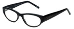Cinzia Designer Eyeglasses CBR05 in Black 50mm :: Custom Left & Right Lens