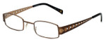 Cinzia Designer Eyeglasses Industrial C2 in Bronze 44mm :: Custom Left & Right Lens