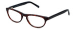 Cinzia Designer Eyeglasses Libertine C3 in Merlot Tortoise 50mm :: Custom Left & Right Lens