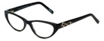 Cinzia Designer Eyeglasses CBR04 in Black 51mm :: Rx Single Vision