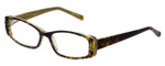 Cinzia Designer Eyeglasses Chisel C2 in Tortoise Lime 52mm :: Progressive